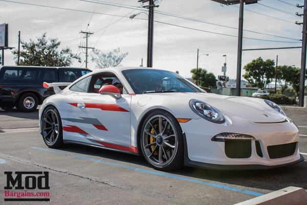Quick Snap: Porsche 991 GT3 Race Car Visits ModAuto