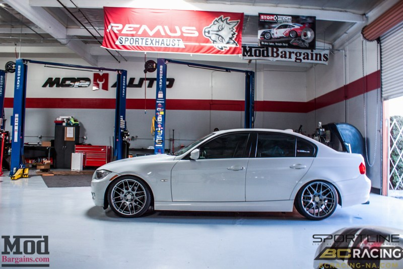 BMW_E90_328i_Sportline_8S_BC_Coilovers_BMWExhaust_-2