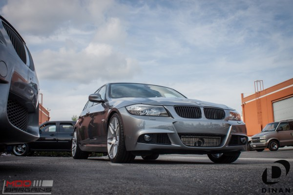 Performance Edition BMW E90 335i transforms with Dinan Intercooler, Forgestar F14s & BMW Exhaust