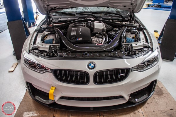 Quick Snap: Michael C's F80 BMW M3 gets an Injen Intake for S55 @ ModAuto