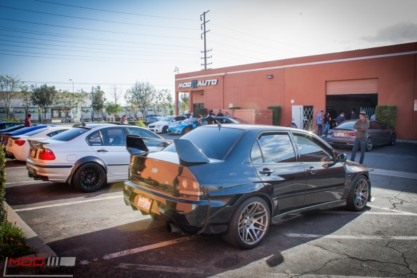 Spotlight: Justin's CF Widebody Mitsubishi Evo 9 (IX) on Forgestar F14 Wheels