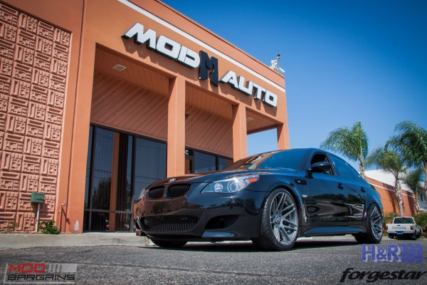 Spotlight: Valli Khan's Modded BMW E60 M5 gets Forgestar F14s @ ModAuto