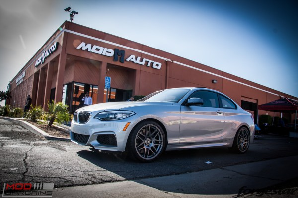 Quick Snap: F22 BMW M235i on Forgestar F14s Gets Custom Fitted