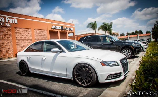 Quick Snap: Audi B8 S4 with STASIS Exhaust on Avant Garde M590s