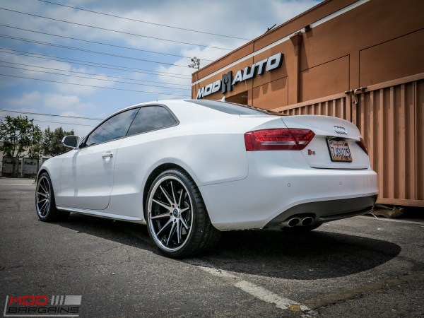 Quick Snap: B8 Audi S5 on Rohana RC10 Machined Wheels @ ModAuto