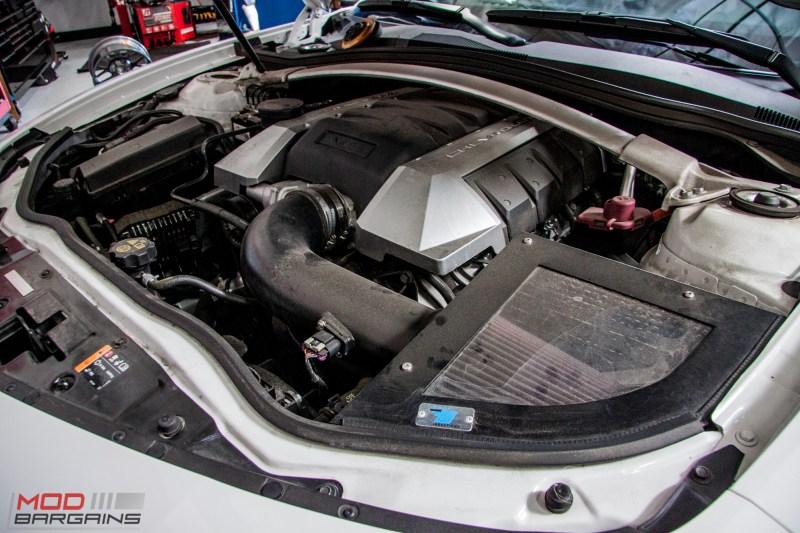 Chevrolet Camaro SS fake 1LE Springs (1)
