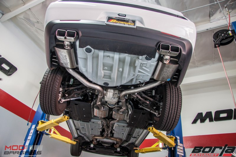 Dodge Challenger RT Borla Exhaust (14)