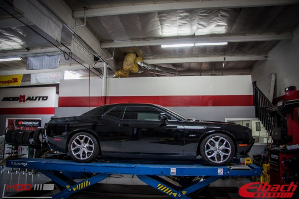 Dodge Challenger R/T on Eibach Springs Gains 29hp with Solo Performance Exhaust