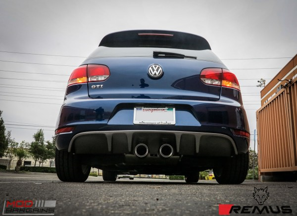 Quick Snap: VW Golf GTI Mk 6 Gets a Remus Exhaust + CF Diffuser