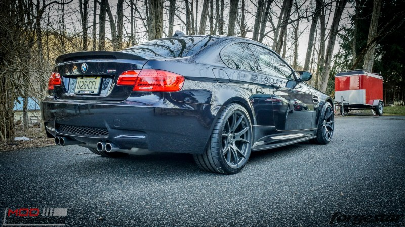 Forgestar CF5V BMW E92 M3 Gunmetal 19x95 19x11 jeffdamore (1)