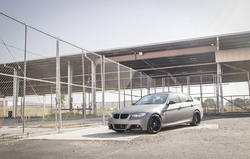 bmw-e90-335d-metallic-matte-gunmetal-wrapped-photoshoot-5