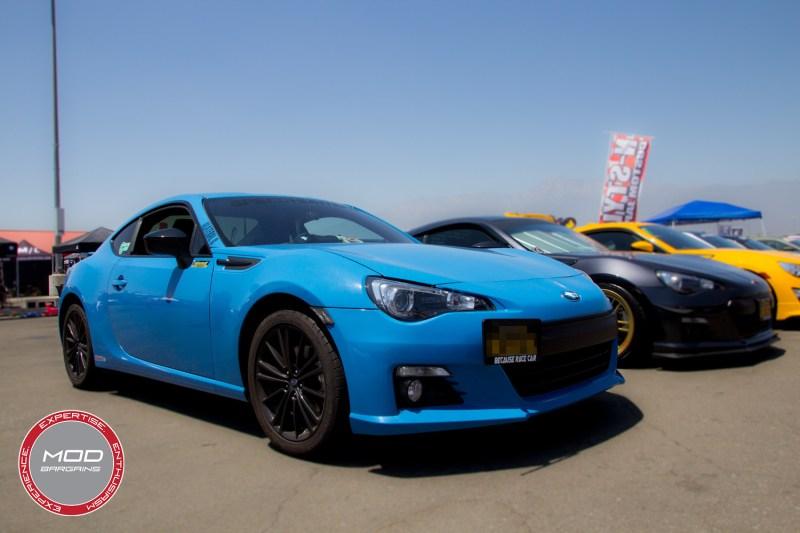 Hyper Blue BRZ