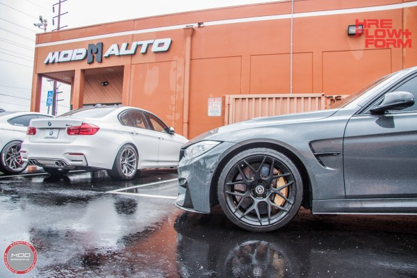 Grigio Ghost: F80 BMW M3 on HRE FF01s kills the M Performance Look