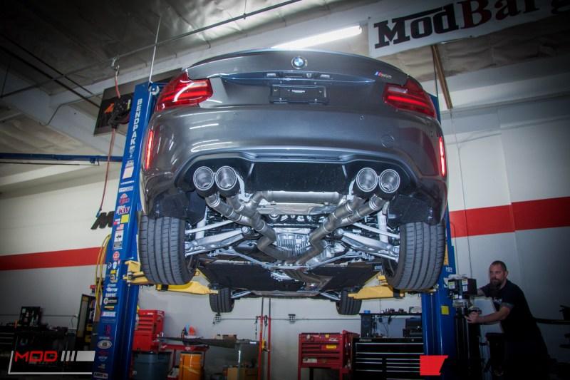 BMW F87 M2 Remus Exhaust (3)