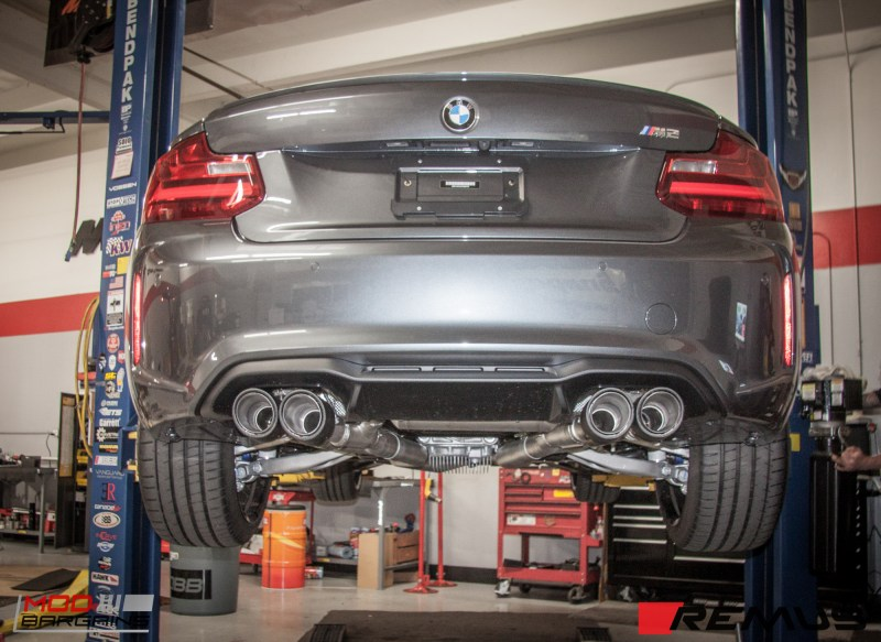 BMW F87 M2 Remus Exhaust (4)