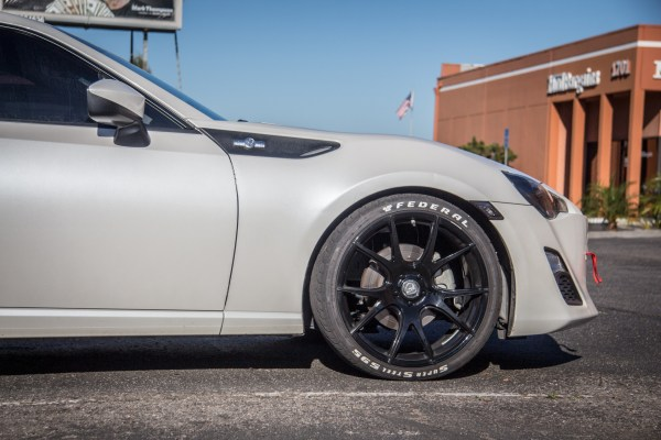 Quick Snap: Scion FR-S on Forgestar CF5V Wheels