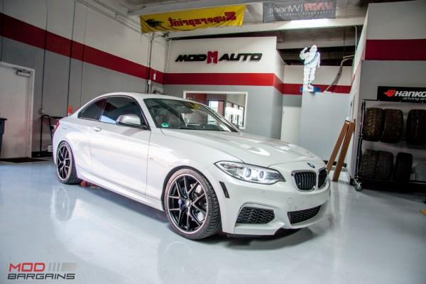 F22 BMW M235i gets Dinan Springs BBS CI-R + Michelin Pilot 4S @ ModAuto