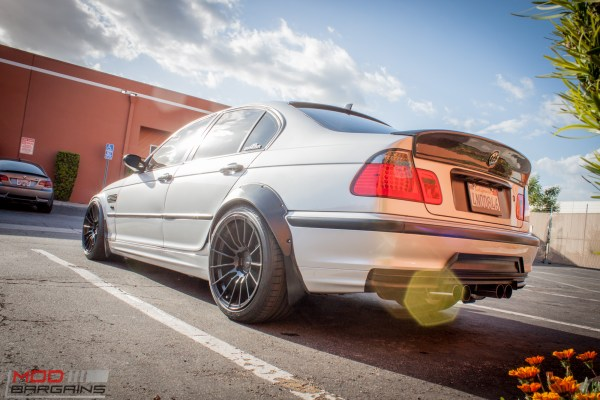 Spotted: Widebody E46 BMW 328i Sedan M3 Tribute