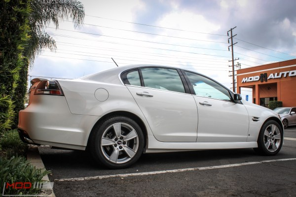Quick Snap: Pontiac G8 Gets Corsa Exhaust