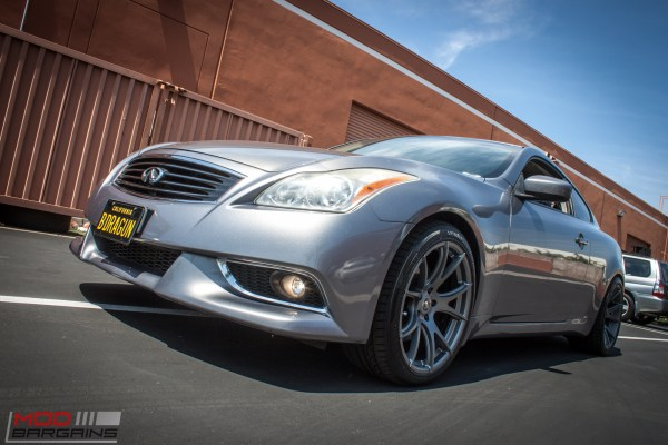 Quick Snap: Infiniti G37 on Forgestar CF5V wheels Powers up with Stillen Intake