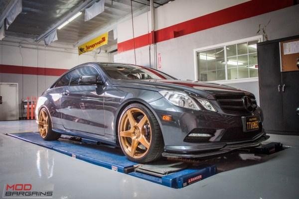 Sick Custom Mercedes E550 AMG Visits ModAuto to get Aligned