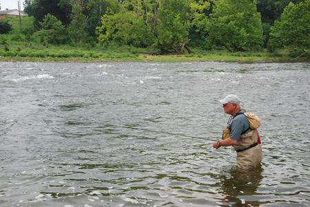 September Bass Fly Fishing