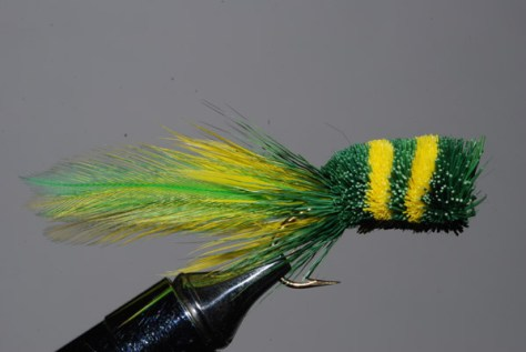 Murray's Frisky Frog Deer Hair Bass Bug