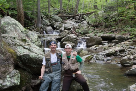 Taking a guided trip in the Shenandoah National Park and fishing for native brook trout can be very gratifying.