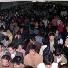 Beijing Metro Station