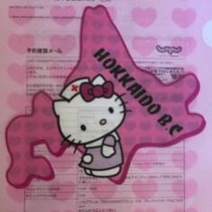 Hello Kitty Hokkaido Trip Folder