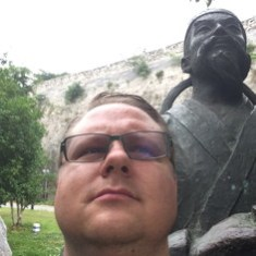 Nanjing Statue Selfie