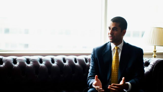 So the FCC Head Says the Media Isn't the Enemy. In 2017, That's News
