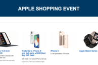 Save $250 on iPhone X at Best Buy's Apple Shopping Event