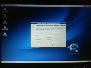 enter network key