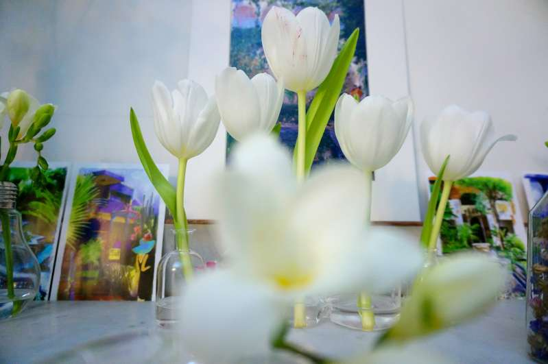 deco fleurs maison