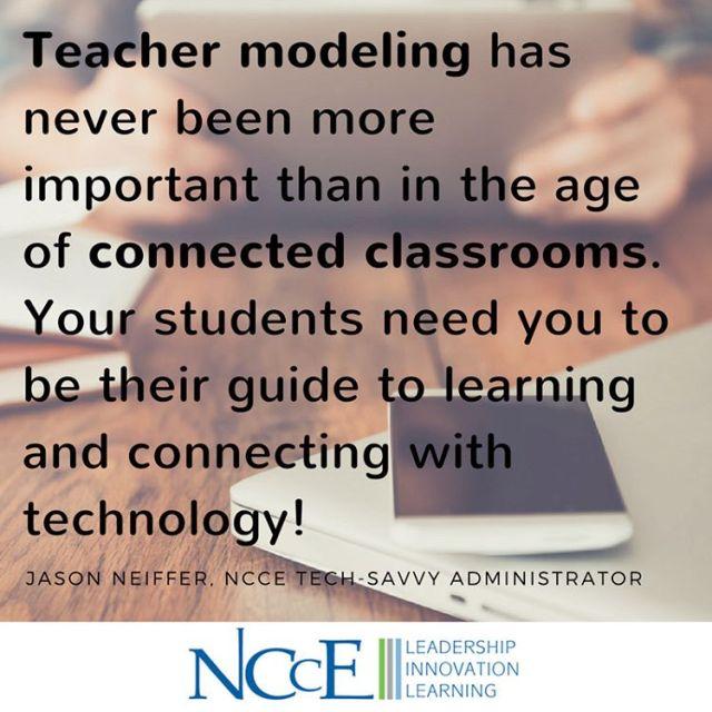 wisdomwednesday edtech nccechat teachersrock