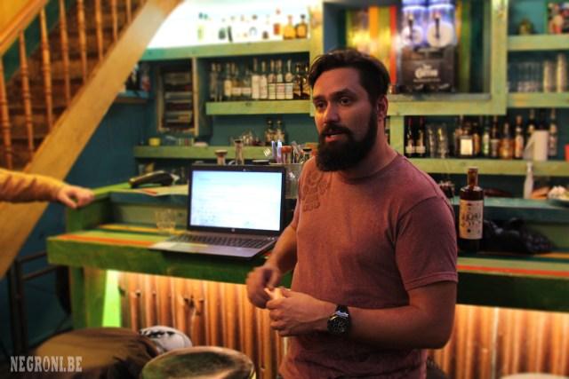 Tequila Maestro Kobe Desmet