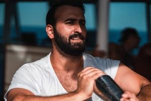 For Sweden: Sharam Mohebbi