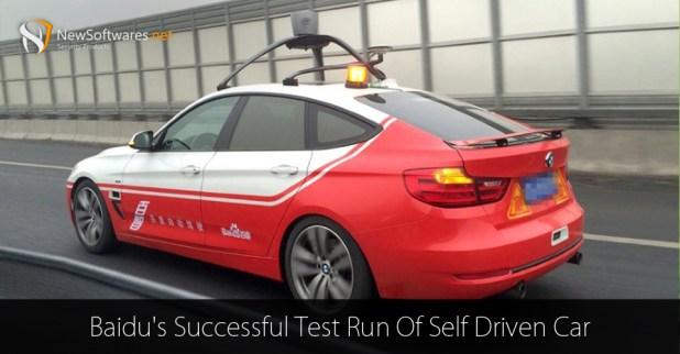 Baidu's-Successful-Test-Run-Of-Self-Driven-Car