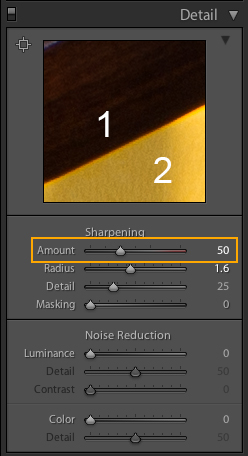 sharpening lightroom