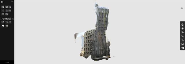 Corner Building ReCap model