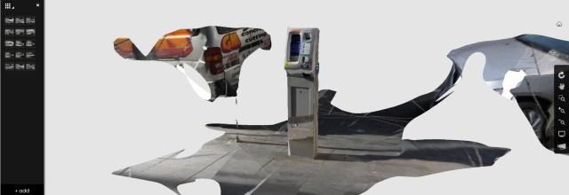parking meter ReCap 3D model
