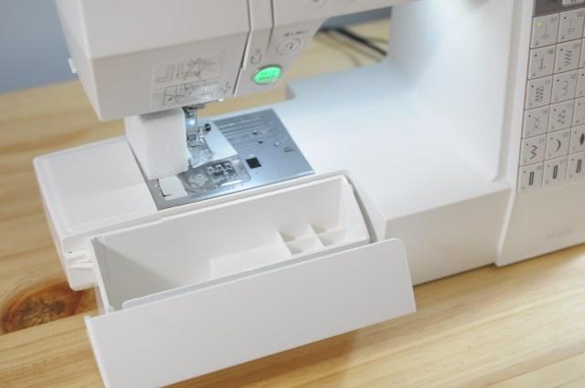 Janome車樂美DC6030 配件收納盒