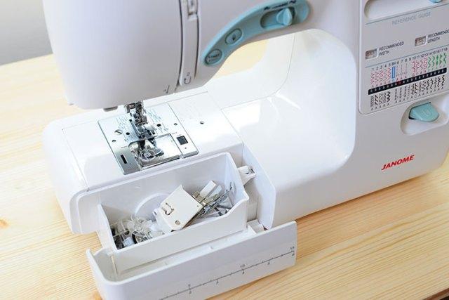 Janome 5031S 整理盒,可放入全部原廠贈送配件