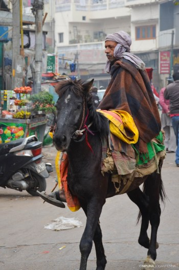 New Delhi street markets