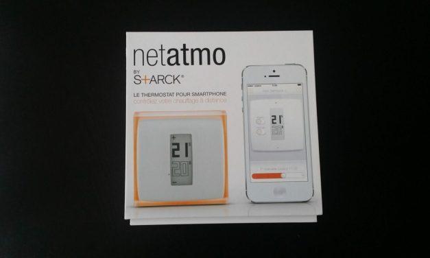 Présentation et test du thermostat Netatmo
