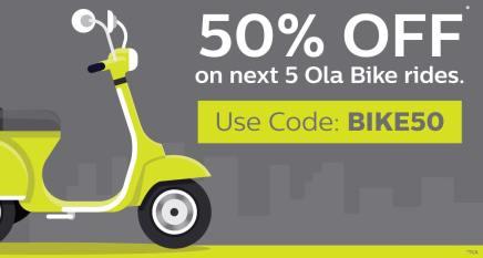 Ola Bike Rides