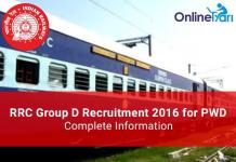 Railways-RRC-Group-D-Recruitment-PWD-Category