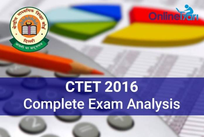 CTET-Exam-Analysis-2016