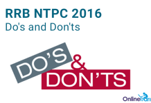 How to Attempt RRB NTPC 2016
